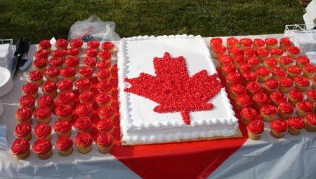 1er juillet 2019 : journée de la fête du Canada (et de son gâteau)