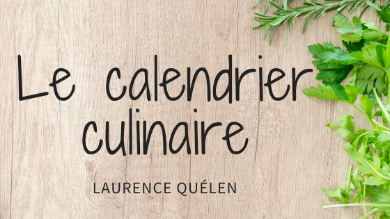 Le calendrier culinaire